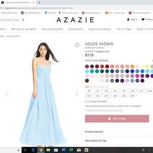 Azazie Bridesmaid Dress- Yazmin